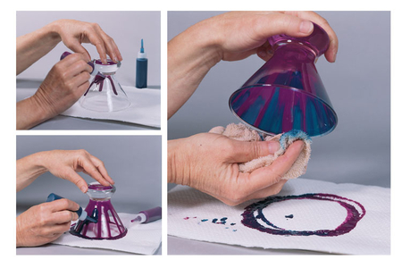 Peinture pour verre, couleurs translucides -10 pots de 45 ml - Peinture Verre et Faïence – 10doigts.fr