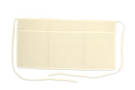 Demi-tablier en coton pour artistes - Support textile à customiser – 10doigts.fr