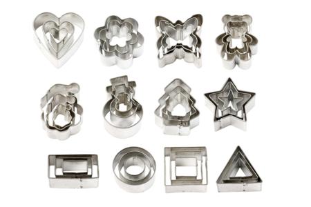 Emporte-pièces métal - Motifs au choix - Emporte-pièces – 10doigts.fr