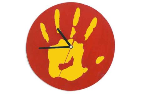 Horloge empreinte - Tutos Fête des Mères – 10doigts.fr