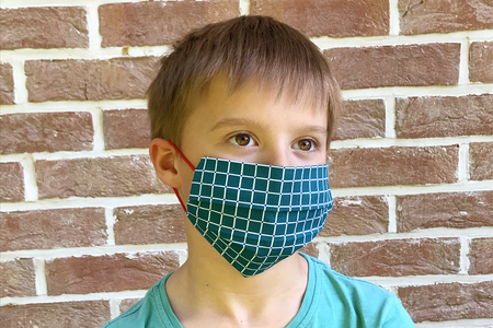 Masque de protection - Sans machine à coudre - Activités enfantines – 10doigts.fr