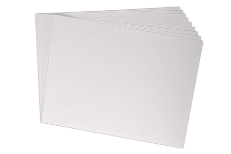 Papier dessin blanc - 50 x 65 cm - Supports blancs – 10doigts.fr