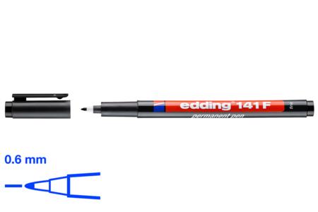 Feutre fin noir pour plastique magique - Feutres pointes fines – 10doigts.fr
