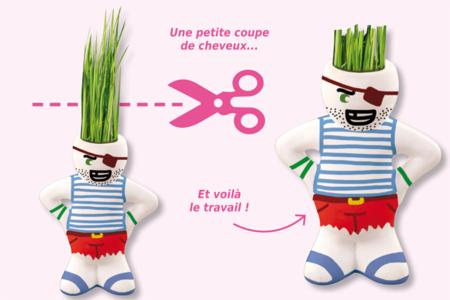 Figurine à coiffer - Supports en Céramique et Terre Cuite – 10doigts.fr