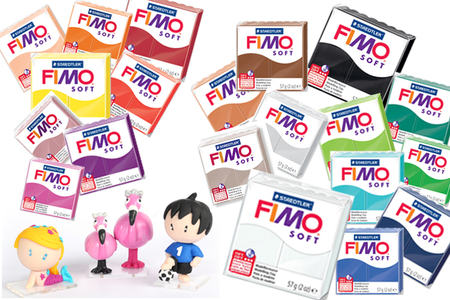 FIMO Soft à l'unité - Couleurs au choix - Fimo Soft – 10doigts.fr