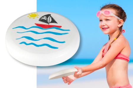 Frisbee à décorer - Supports de Coloriages – 10doigts.fr
