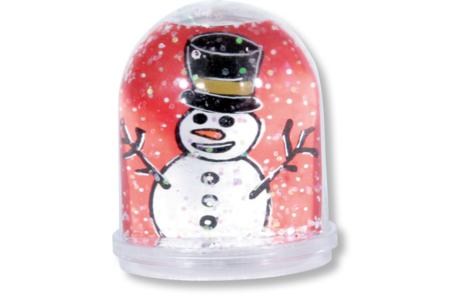 Boule à neige à personnaliser - Plastique Transparent – 10doigts.fr