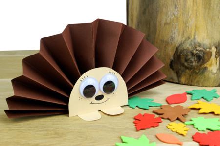 hérisson papier bricolage enfants - Tête à Modeler