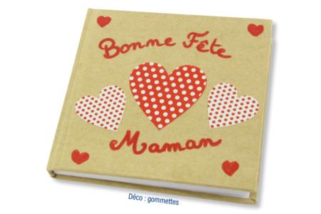 Carnet kraft déco gommettes - Albums, carnets - 10doigts.fr