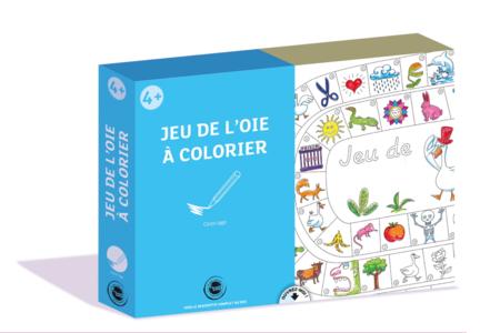 Coffret Jeu de l'oie - Activité Coloriage - Coffret Jeux à créer – 10doigts.fr