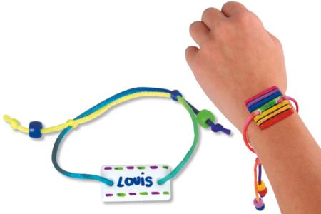 Bracelets gourmettes - Kit pour 30 bracelets - Bijoux, bracelets, colliers – 10doigts.fr