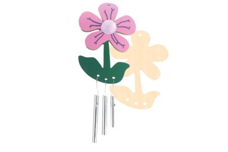 Carillon fleur à monter - Carillons et Mobiles – 10doigts.fr