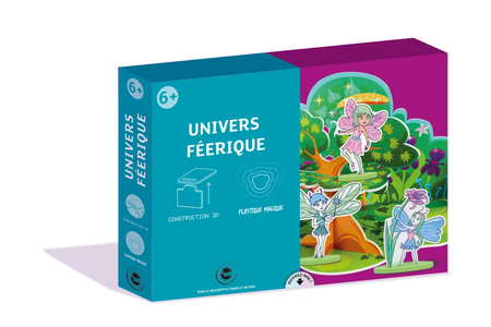 Coffret Féérique - Construction et Plastique magique - Feuilles plastique magique – 10doigts.fr