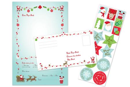 Lettres au père Noël - Lot de 6 - Kits d'activités Noël – 10doigts.fr