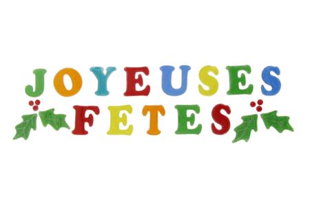 """Lettres gel """"Joyeux Noël"""" pour fenêtres - Décorations pour vitres – 10doigts.fr"""