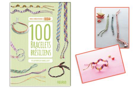 Livre : 100 Bracelets brésiliens - Livres Bijoux – 10doigts.fr