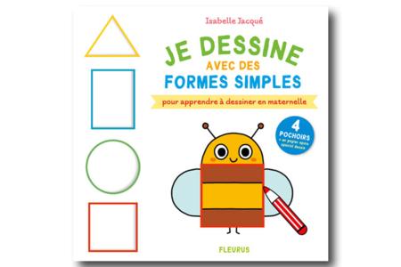 Livre : Je dessine avec des formes simples - Livres – 10doigts.fr