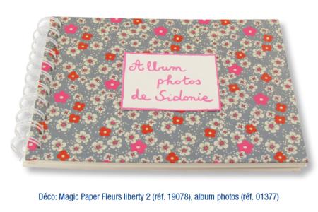 Magic Paper auto-adhésif CHEVRONS, NOËL ou PRINCESSES - Magic Paper – 10doigts.fr