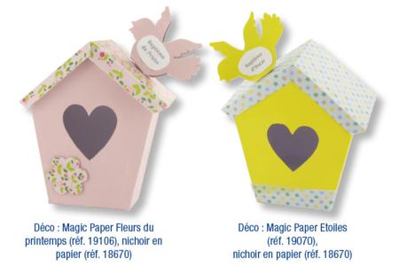 Magic Paper auto-adhésif Pois multicolores - Washi paper / Magic paper – 10doigts.fr