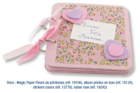 Album photos 5 pages en bois - Albums, carnets – 10doigts.fr