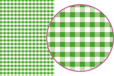 Magic Paper auto-adhésif Vichy vert - Washi paper / Magic paper – 10doigts.fr