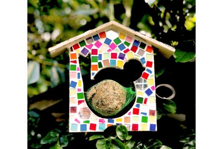 Mangeoire en mosaïques - Déco de la maison – 10doigts.fr