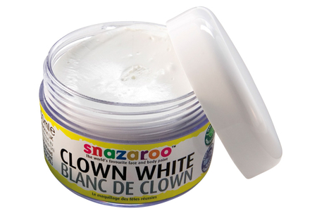 Maquillage blanc de clown - Maquillage – 10doigts.fr