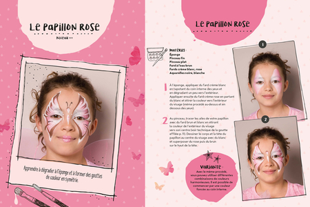 Livre : Maquillage pour enfants - Livres Maquillage – 10doigts.fr