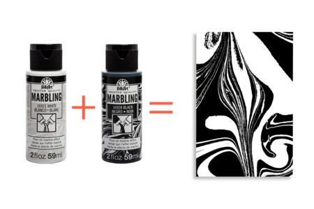 Peinture Marbling - 10 Couleurs prêtes à l'emploi - Peinture Marbling – 10doigts.fr
