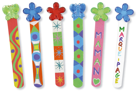 Marque-pages papillons - Petits bricolages – 10doigts.fr