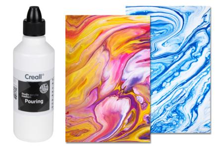 Médium de lissage - Pouring medium 500 ml - Peinture Marbling – 10doigts.fr