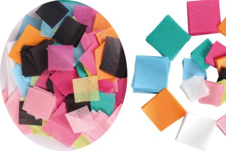 Papier de soie en Meli-Melo - Set de 5000 carrés - Papiers de soie – 10doigts.fr
