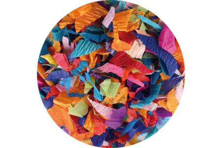 Méli-mélo de papier crépon - Couleurs assorties - Papiers de crépon – 10doigts.fr
