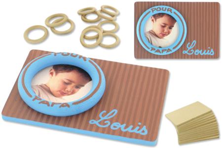 Mini-cadre «Louis» - Cadres, tableaux – 10doigts.fr