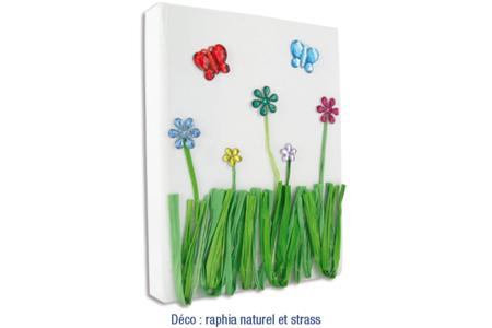 Strass fleurs, papillons et libellules - 210 pièces - Strass – 10doigts.fr