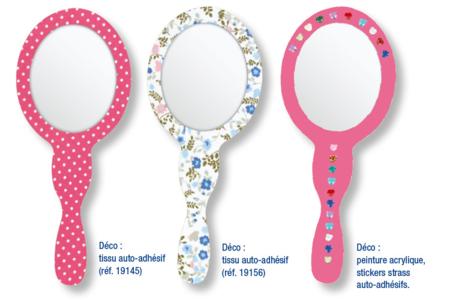 Kit de 6 miroirs Princesse - Activités enfantines – 10doigts.fr