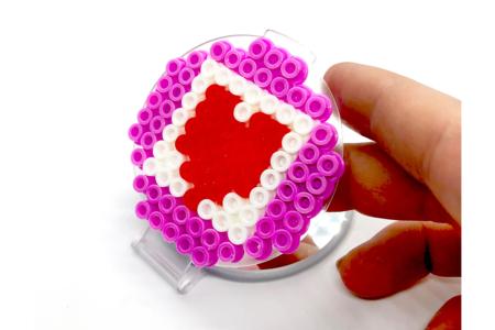 Miroir déco perles à repasser - Perles à repasser – 10doigts.fr
