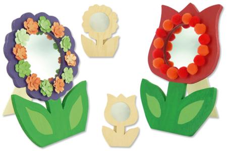 Miroirs Fleurs - Déco de la maison – 10doigts.fr