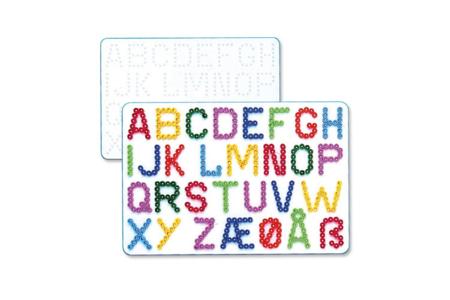 Plaque lettres pour perles fusibles - Perles Fusibles 5 mm – 10doigts.fr