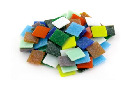 Mosaïques pâte de verre multicolores - Mosaïques pâte de verre – 10doigts.fr