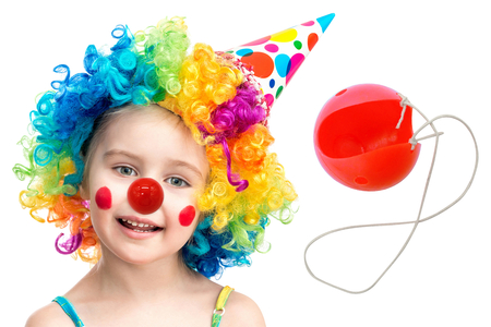 Nez de clown + élastiques - Mardi gras, carnaval – 10doigts.fr