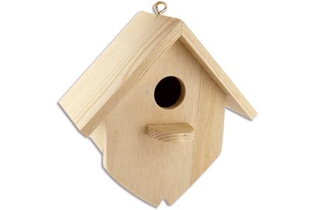 Nichoir en bois, à à suspendre - Déco de la maison – 10doigts.fr