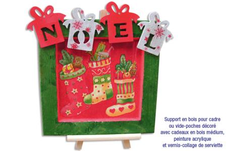 Tableau de Noël - Je décore ma table de Noël – 10doigts.fr