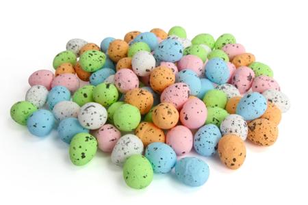 Mini Oeufs de pâques pastel - 100 oeufs - Décorations et accessoires de Pâques – 10doigts.fr