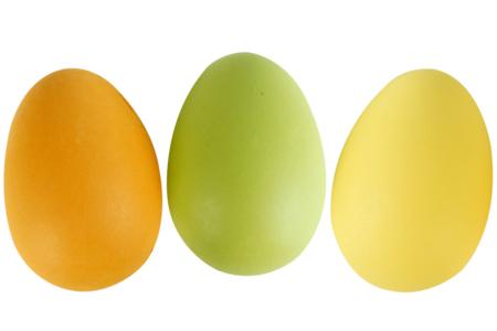 Oeufs en plastique couleurs - Supports de Pâques à décorer – 10doigts.fr