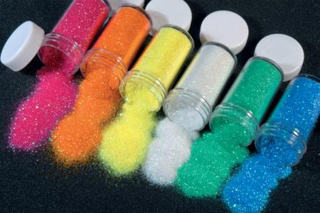 Paillettes ultra-fines - 6 couleurs iridescentes - Paillettes à saupoudrer – 10doigts.fr