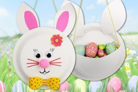 Panier lapin de Pâques - Tutos Pâques – 10doigts.fr