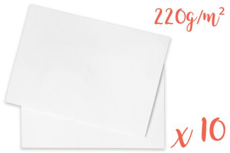 Papiers médiums teintés (220 gr) 50 x 70 cm - Couleurs au choix - Ramettes de papiers – 10doigts.fr