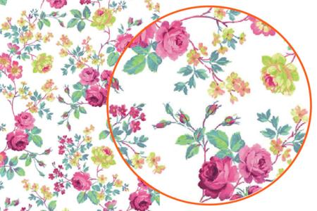 Décopatch N°718 - Set de 3 feuilles - Fleurs – 10doigts.fr