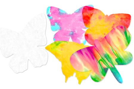 Papillons en papier diffuseur - Set de 48 - Les nouveautés – 10doigts.fr